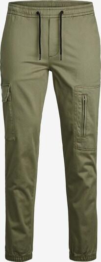 JACK & JONES Klapptaskutega püksid oliiv, Tootevaade