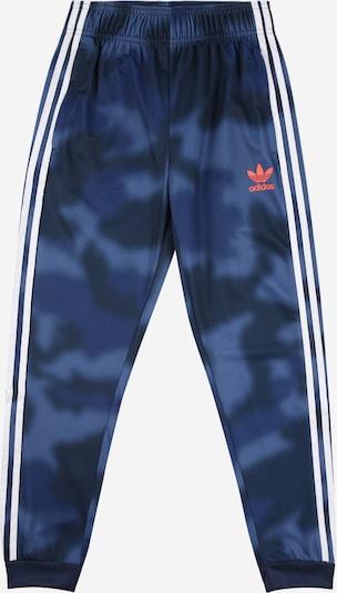 ADIDAS ORIGINALS Trousers in light blue / dark blue / orange / white, Item view