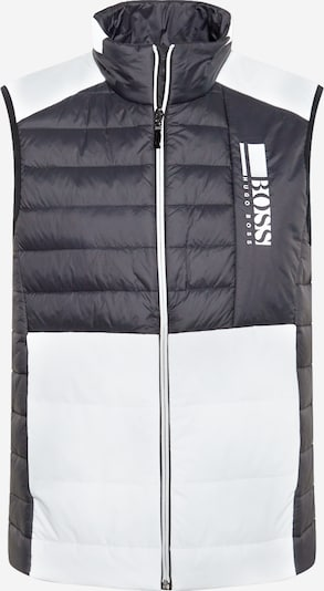 BOSS ATHLEISURE Vest in Black / White, Item view