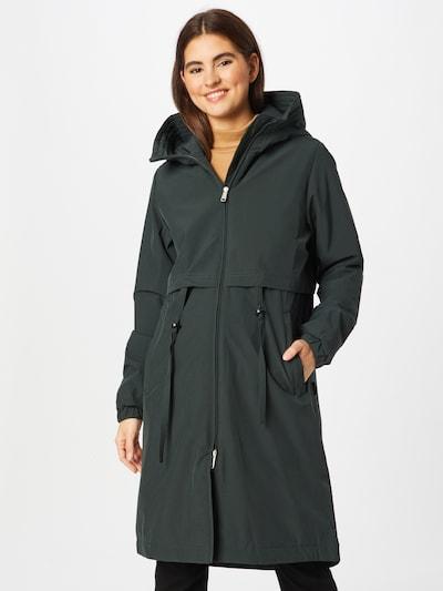 MAKIA Mantel 'Vuono' in dunkelgrün, Modelansicht