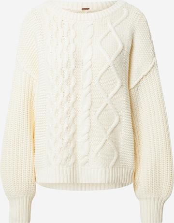 Free People Sweater 'DREAM' in Beige