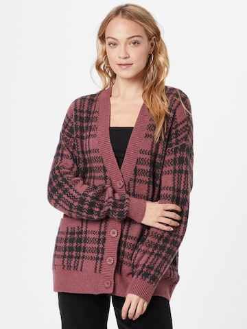HOLLISTER Knit Cardigan in Red