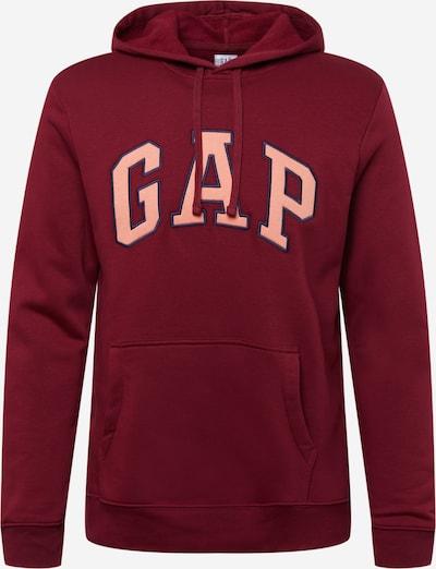 GAP Sweatshirt en himmelblau / rosa / rot, Vue avec produit
