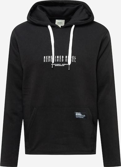 Redefined Rebel Sweatshirt 'Julian' in schwarz / weiß, Produktansicht