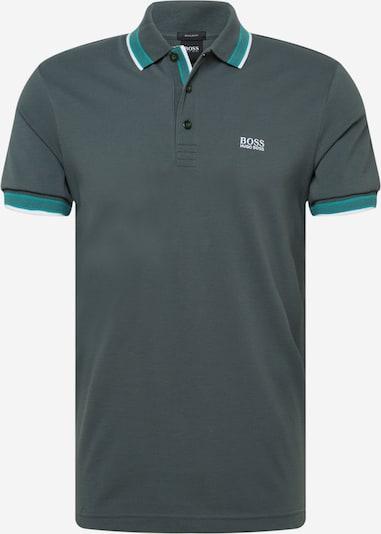 BOSS ATHLEISURE T-Krekls 'Paddy', krāsa - nefrīta / egļu / balts, Preces skats