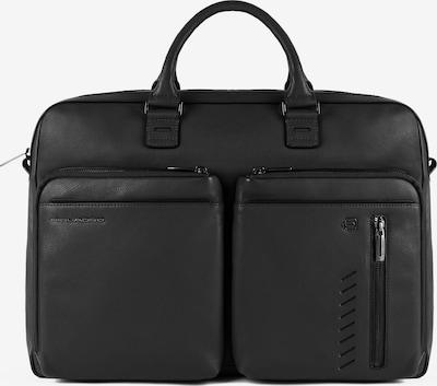 Piquadro Nabucco Aktentasche Leder 42 cm Laptopfach in schwarz, Produktansicht