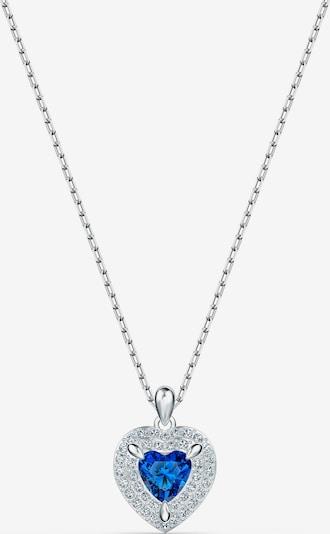 Swarovski Halsband i blå / silver / transparent, Produktvy