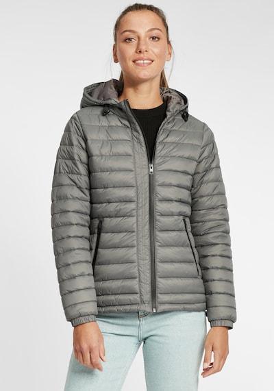 Oxmo Between-Season Jacket 'Nella' in Grey: Frontal view