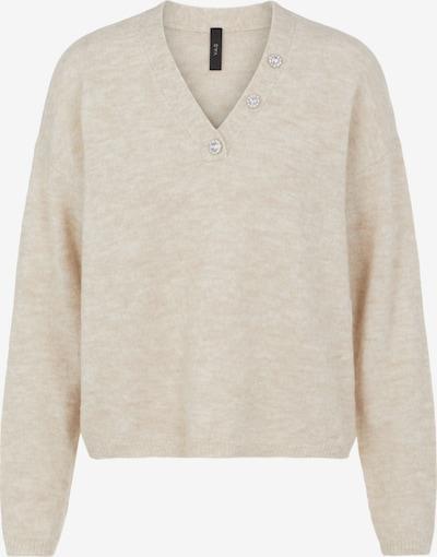 Y.A.S Pullover 'Talis' in beige, Produktansicht