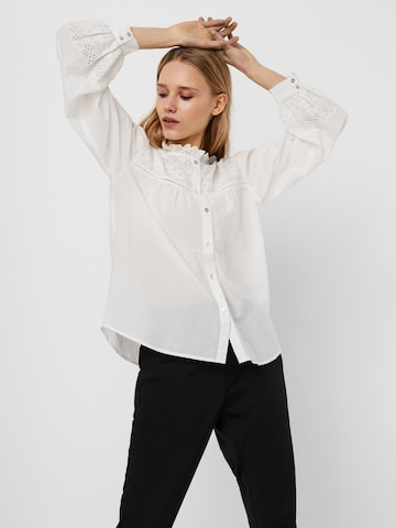 VERO MODA Bluse 'Amy' in Weiß