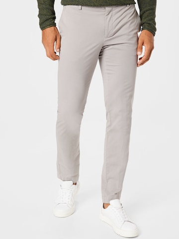 Pantalon chino 'KENSINGTON' Hackett London en gris