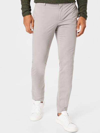 Hackett London Pantalon chino 'KENSINGTON' en gris, Vue avec modèle