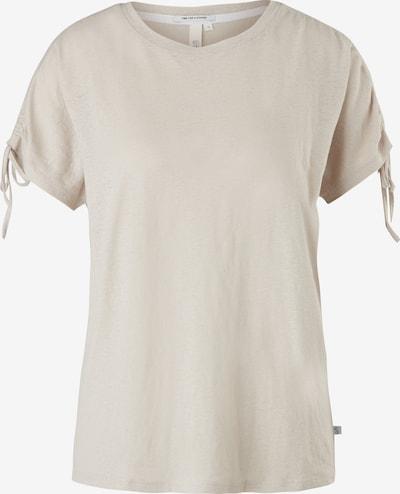 Q/S designed by T-Shirt in beige, Produktansicht