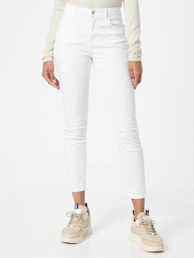 Pantaloni 'DAKOTA' JDY pe alb, Vizualizare model