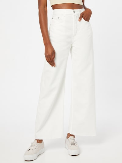 Boyish Jeans 'CHARLEY' in weiß, Modelansicht