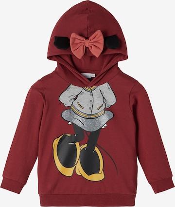 Sweat-shirt 'Minnie Alba' NAME IT en rouge