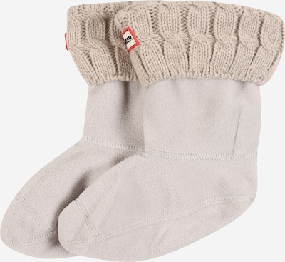 HUNTER Socken '6 STITCH CABLE' in greige, Produktansicht