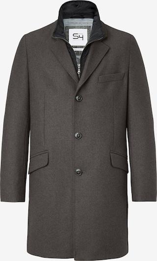S4 Jackets Mantel in grau / schwarz, Produktansicht