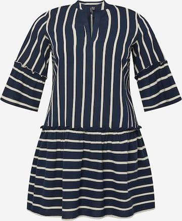 Vero Moda Curve Shirt Dress 'Afua' in Blue