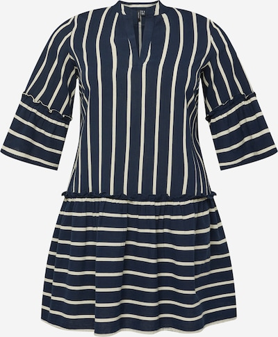 Vero Moda Curve Blousejurk 'Afua' in de kleur Navy / Wit, Productweergave