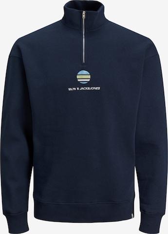 JACK & JONES Sweatshirt 'Clayton' in Blue