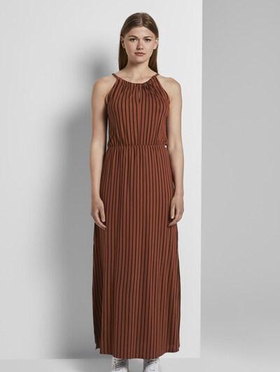 TOM TAILOR DENIM Kleid in braun, Modelansicht
