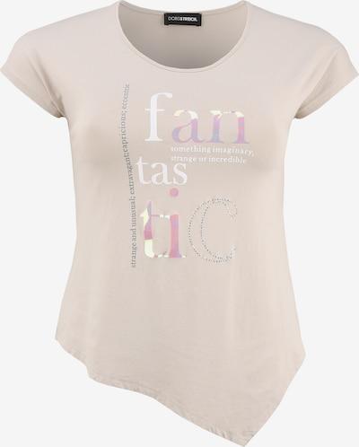 Doris Streich Shirt mit asymmetrischem Saum in beige, Produktansicht