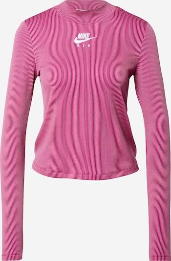 Nike Sportswear Shirt in de kleur Bessen / Purper / Wit, Productweergave