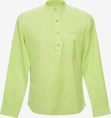 TERRA LUNA Hemd 'Carpo' in Gelb