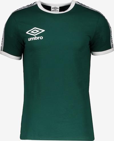 UMBRO T-Shirt in grün / weiß, Produktansicht
