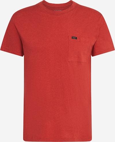 Lee Tričko 'Ultimate Pocket' - červená: Pohled zepředu
