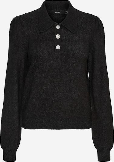 VERO MODA Pullover in dunkelgrau, Produktansicht