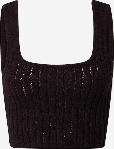 Cotton On Gebreide top in de kleur Zwart, Productweergave