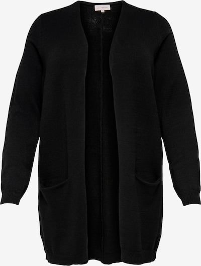 ONLY Carmakoma Knit cardigan 'Carstone' in black, Item view