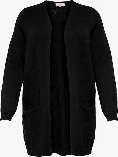 ONLY Carmakoma Strickjacke 'Carstone' in schwarz, Produktansicht