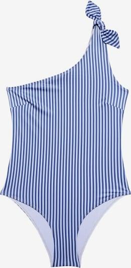 Underprotection Badpak 'Manon' in de kleur Blauw / Wit, Productweergave