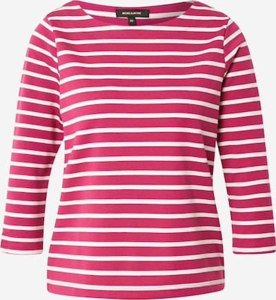 MORE & MORE Shirt in cranberry / weiß, Produktansicht