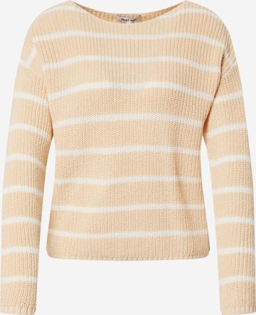 ABOUT YOU Sweater 'Malin Jumper' in Beige