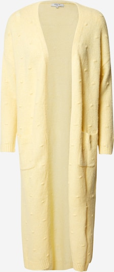 FRNCH PARIS Kardigan 'GILET' w kolorze żółtym, Podgląd produktu
