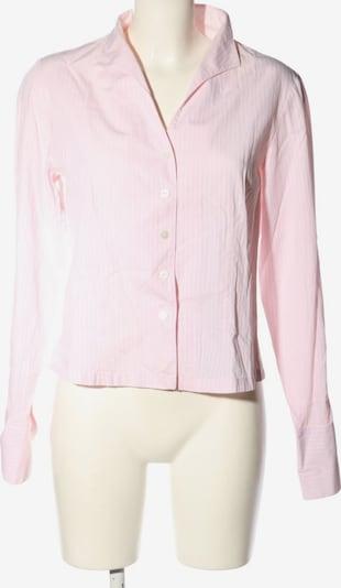 B.M.-company Langarm-Bluse in L in pink / weiß, Produktansicht