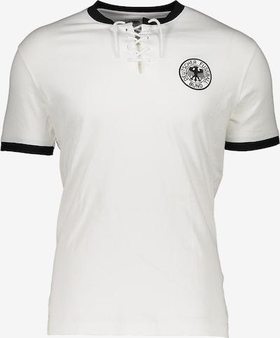 DFB T-Shirt in weiß: Frontalansicht