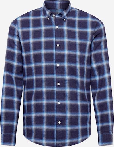 Matinique Button Up Shirt 'Trostol' in Navy / Light blue, Item view