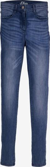 s.Oliver Jeans in de kleur Blauw / Blauw denim, Productweergave