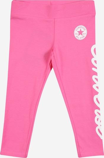 CONVERSE Leggings 'CHUCK' in pink / weiß, Produktansicht