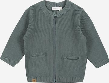 NAME IT Knit Cardigan 'KATAN' in Grey
