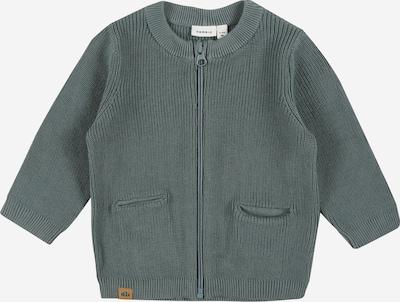 Geacă tricotată 'KATAN' NAME IT pe gri bazalt, Vizualizare produs