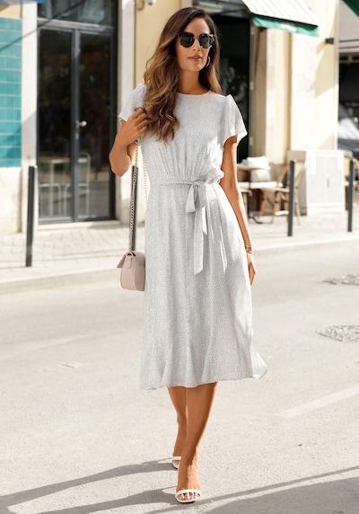 LASCANA LASCANA Midikleid in weiß, Modelansicht