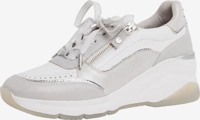 TAMARIS Sneakers laag in de kleur Grijs / Wit, Productweergave