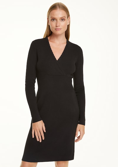 COMMA Knitted dress in Black, View model