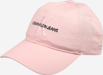 Șapcă Calvin Klein Jeans pe roz / negru, Vizualizare produs